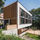 Дом М (House M) в Германии от Peter Ruge Architekten.