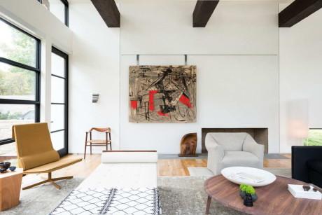 Интерьер современного дома в США