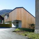 Дом MMR (MMR House) в Швейцарии от Evequoz Ferreira.