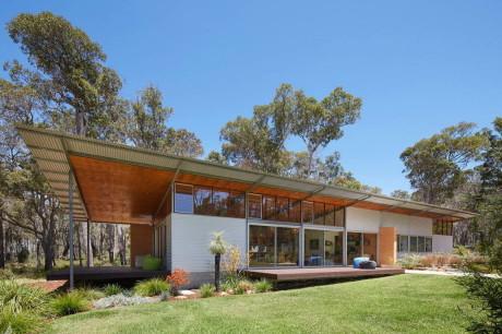 Лесной дом в Австралии