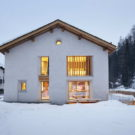 Дом Зильс Мария (Casa Sils Maria) в Швейцарии от Ruinelli Associati Architetti.