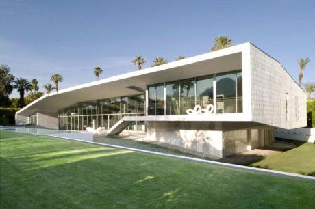 Дом с навесом в пустыне (Desert Canopy House) в США от Sander Architects.