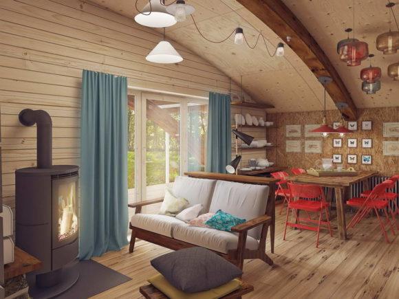 Проект арочного дома в России