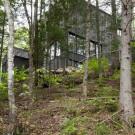 Дом Ла Кэш (La Cache) в Канаде от Nathalie Thibodeau Architecte.