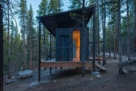 Лесные домики в США