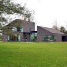 Дом Кикенс (F&C Kiekens) в Бельгии от Architektuurburo Dirk Hulpia.