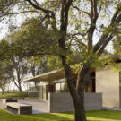 Дом в долине (San Joaquin Valley Residence) в США от Aidlin Darling Design.