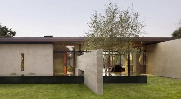Дом в долине (San Joaquin Valley Residence) в США от Aidlin Darling Design.