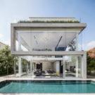«Бетон с вырезами» (Um Corte Concreto) в Израиле от Pitsou Kedem Architects.