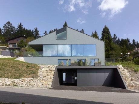 Современное шале в Швейцарии