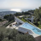 Вилла Ла Мадоне (Villa La Madone) во Франции от A2CM & Ceschia e Mentil Architetti Associati.
