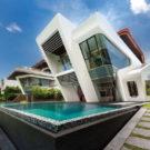 Вилла Мистраль (Villa Mistral) в Сингапуре от Mercurio Design Lab.