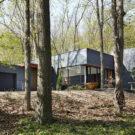 Резиденция Фолсвью (Fallsview Residence) в Канаде от Setless Architecture.