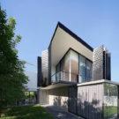 Дом ПК79 (PK79) в Таиланде от Ayutt and Associates design.