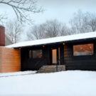 Южная резиденция (South End Residence) в Канаде от Peter Braithwaite Studio.