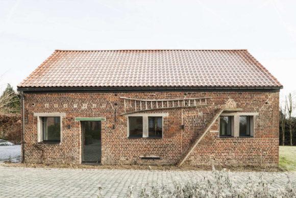 Реконструкция сарая в Бельгии