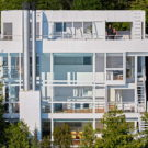Дом Дуглас (Douglas House) в США от Richard Meier & Partners Architects.