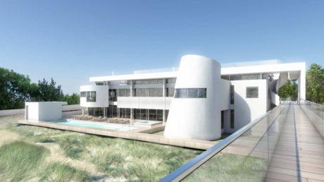 Проект современного загородного дома в США
