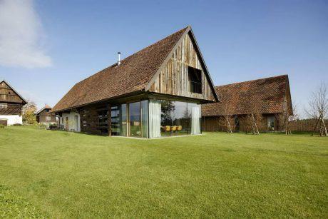Реконструкция сельского дома в Австрии
