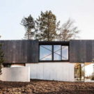 Дом в Риене (House in Riehen) в Швейцарии от Reuter Raeber Architects.