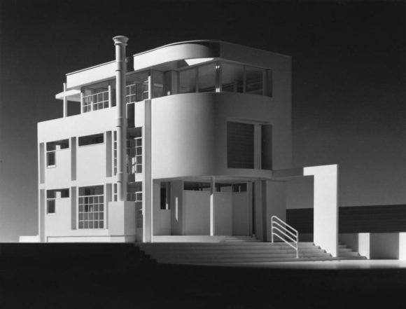 Прототип загородного дома (Suburban House Prototype) в США от Richard Meier & Partners Architects LLP.
