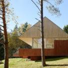 Летний домик (Summer House Svartno) в Швеции от Arkitektstudio Widjedal Racki.