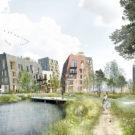 Деревянный город (Wooden Town) в Швеции от C.F. Moller.