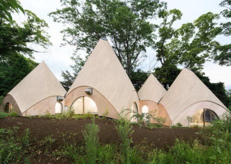 Дом-палатка в Японии