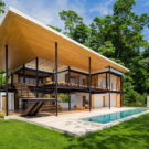 Дом с видом на океан (Ocean Eye House) в Коста-Рике от Benjamin Garcia Saxe.