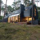 Чёрный дом «Блюз» (Black House Blues) в Литве от Studija Archispektras.