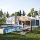 Дом на холме (Casa sulla Collina) в Италии от Menichetti+Caldarelli.