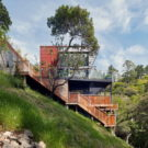 Дом на склоне (Hillside House) в США от Zack de Vito Architecture + Construction.