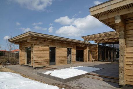 Три необычных деревянных загородных дома в России, Норвегии и Германии.