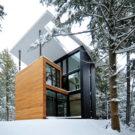 Дом скульптора (Maison du Sculpteur) в Канаде от YH2 Architecture.