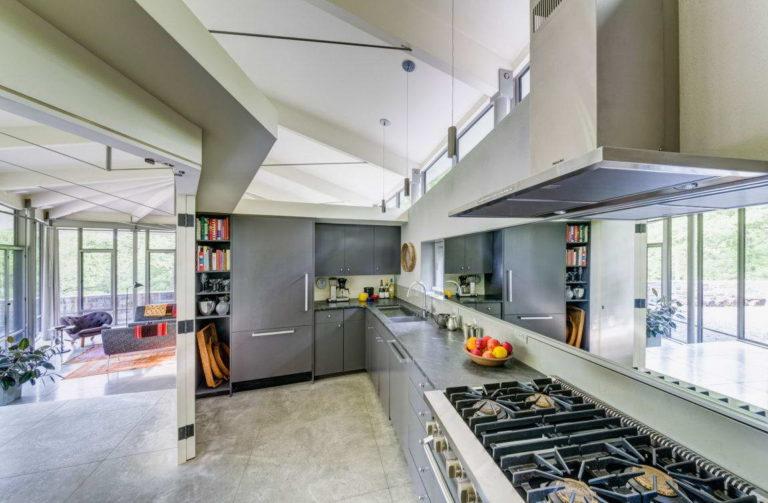 Hausdesign in weiss