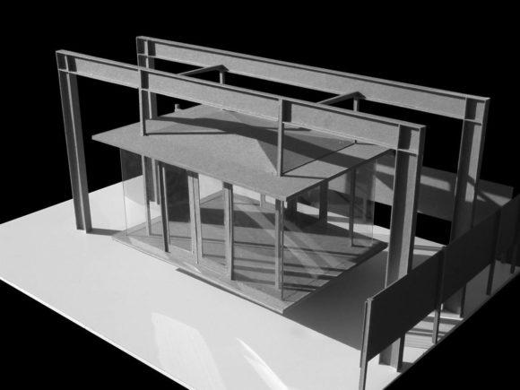 Чайный домик (Tea House) в США от David Jameson Architect.