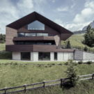 Вилла А (Villa A) в Италии от Perathoner Architects.