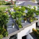 Дом А (A House) во Вьетнаме от Vo Trong Nghia Architects & ICADA.
