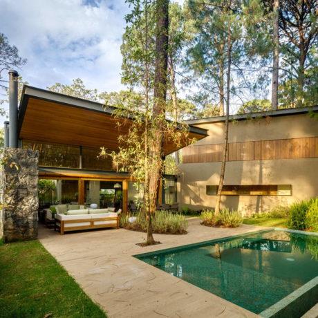 Пять загородных домов в Мексике