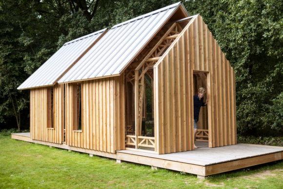 Раздвижной садовый домик