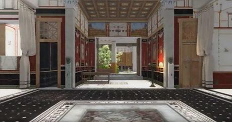 Исследователи из Лундского университета создали трёхмерную видеореконструкцию дома богатого вольноотпущенника Луция Цецилия Юкунда в Помпеях, используя методы традиционной археологии и современные 3D-технологии.