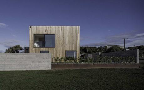 Дом-куб в Новой Зеландии