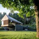 Вилла в долине (Valley Villa) в Литве от Arches.