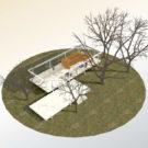 Виртуальный тур по Стеклянному дому Мис ван дер Роэ.