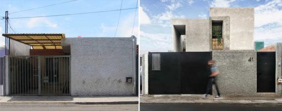 Расширение городского дома в Мексике