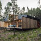 Дом Ла Гуимера (Casa La Quimera) в Чили от Ruca Proyectos.