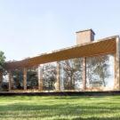 Дом НТ (Casa NT) в Голландии от Atelier van Wengerden.