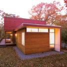 Дом Элизабет H (Elizabeth H) в США от Bates Masi Architects.