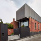 Дом Фицрой (Fitzroy House) в Австралии от Julie Firkin Architects.