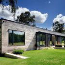 Лесной домик (Forest Lodge) в Англии от PAD studio.